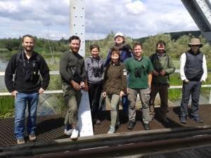 group on bridge