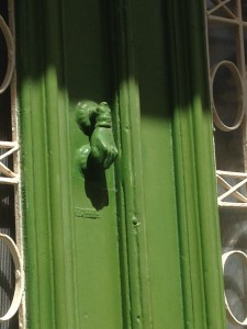 Door Knocker in the shape of a hand