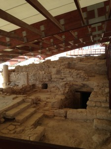 Kourion covered archaeology