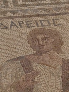 Gladiator Mosaic close up