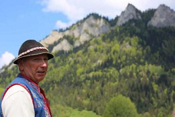 Slovakian Gorali raft guide